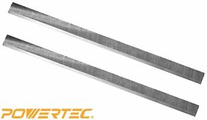 Powertec Hss Planer Blades For Jet 12 5 Planer 708522 Jwp 12 4p Set Of 2