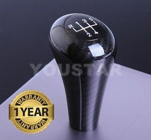 Us Seller X1 Carbon Effect 5 Speed Manual Gear Knob For Bmw E36 E46 3 5 Z Series