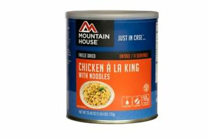 Mountain House Chicken A La King With Noodles 10 Can