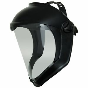 Uvex Bionic Face Shield With Clear Polycarbonate Visor And Anti fog hard Coat