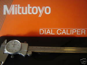 New 8 Mitutoyo Old 505 676 New 505 743 Dial Caliper W case