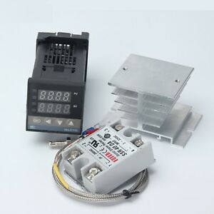 Universal Pid Temperature Controller Digital Output Rex Thermocouple Relay