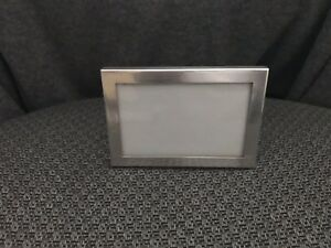 Vintage Tiffany Co Sterling Silver Picture Photo Frame Easel Back Table Top