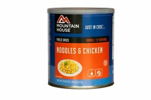 Mountain House Noodles Chicken 10 Can