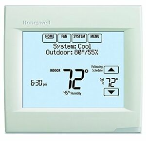 Honeywell Th8321wf1001 Touchscreen Thermostat Wifi Vision Pro 8000 With Stages