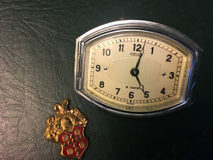 Nos Jaeger 8 day Clock 1920s 1930s Packard Cadillac Rolls royce Works