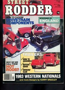 Vintage Street Rodder Magazine January 1984 Trailers 1932 Ford Truck 1934 Chevy