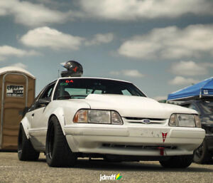 Ford Mustang 3 Fender Flares Jdm Wide Body Kit Wheel Arch Foxbody 3 5 90mm 4pcs