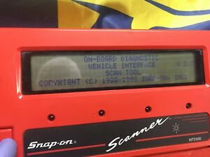 Snap On Scanner Mt2500 Body Only Good Unit