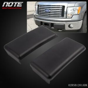 For 2009 2014 Ford F150 09 14 Front Bumper Guards Pads Caps Inserts Lh Rh Set