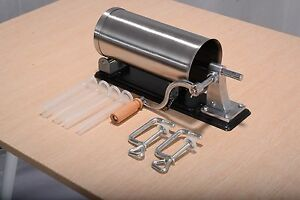 Us Sausage Stainless Steel Commercial Stuffer Maker Meat Filler Kitchen Machine