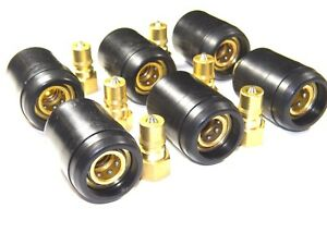 Carpet Cleaning Brass 1 4 Qd W heat Shield For Wands Hoses