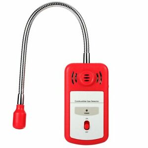 Sgile Combustible Natural Gas Detector Portable Gas Leak Detector Tester With