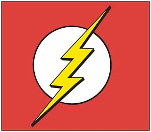 The Flash Marvel Dc Comic Decal Diecut Sticker Self Adhesive Vinyl