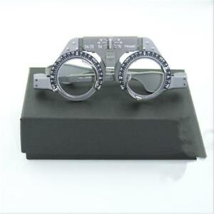 Professional Optical Titanium Trial Lens Frame Eye Optometry Optician Brand New