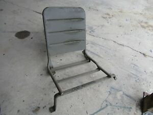 Jeep Willys Nos M38a1 Driver Seat Very Solid 100 Original G758