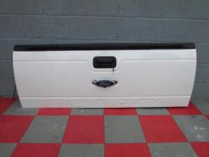 2013 2016 Ford F250 F350 Super Duty Tailgate Pearl White W Camera