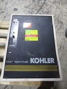 Kohler Automatic Transfer Switch K 166541 0070 70a 480v 3ph 4w 60hz 3p Used