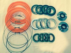 Rockwell 2 5 Ton 20 Pc Orange Boot And Seal Kit M35 M109 Military Mud Crawler