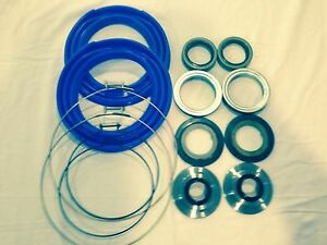 Rockwell 2 5 Ton Front Axle Blue Boot And Seal Kit M35 M109 Military Mud Truck