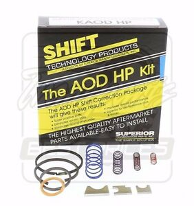 Ford Aod Transmission High Performance Superior Shift Kit 1980 92 Kaod hp