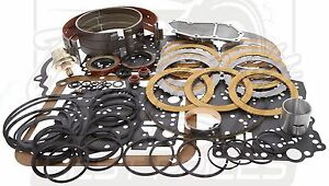Ford C4 Transmission Rebuild Overhaul Deluxe Kit 1965 1969 W Band Filter Etc