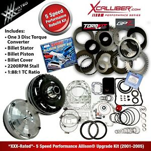29545311 Xxx Performance Rebuild Kit For Allison Transmissions Gm Duramax 5 Spd