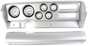 70 72 Gto Silver Dash Carrier W Auto Meter Phantom Electric Gauges