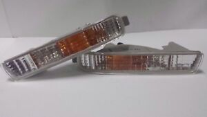 Honda Accord Cd3 Cd1 Bumper Clear Turn Signal Blinker Light Lamps 1994 1995 New