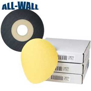 Norton 9 Discs For Porter Cable 7800 Drywall Sander 220 Grit 45 Ct Backer
