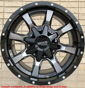 4 New 20 Wheels Rims For Chevy Avalanche 1500 Astro Van 6 Lug 25082