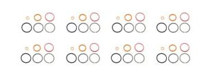 7 3l 94 03 Diesel Injector O ring Kit Set Of 8 Fits Ford Powerstroke