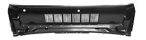 New 1964 1965 1966 Mustang Cowl Air Vent Upper Panel Grill At Hood