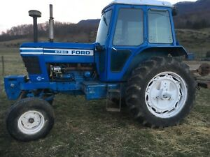 Ford Tractor 8700 Cab Ac Heat Radio New Holland John Deere Kubota