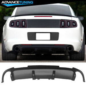 Fits 13 14 Ford Mustang California Special Cs Boss302 Rear Lower Diffuser Pp