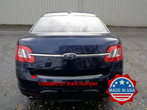 2010 2019 Ford Taurus Rear Trunk Protector Accent Trim Cover Door Chrome Bumper