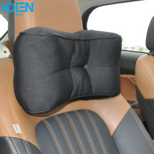 New Car Pillow Headrest Neck Rest Pillow Seat Lumbar Support Cushion Memory Foam