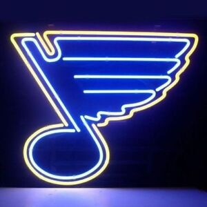 New St Louis Blues Beer Neon Light Sign 20 x16