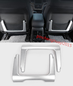 Chrome Car Seat Back Bag Decorated Frame Trim For Jeep Grand Cherokee 2014 2017