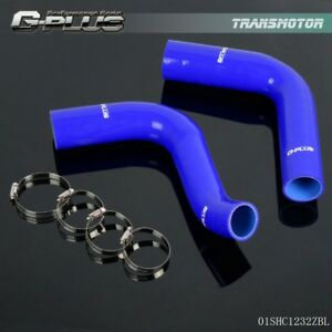 Silicone Radiator Hose Kit For Ford F100 351 Cubic Inch V8 1976 Blue