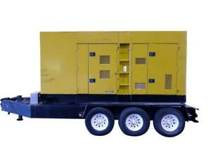 Used Mq Power Multiquip 352 Kw Standby 320 Kw Prime Portable trailered Diese
