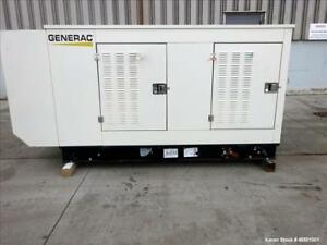 Used Generac 70 Kw Standby 63 Kw Prime Natural Gas Generator Set Model Sg070