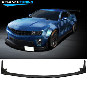 Fits 10 15 Chevy Camaro Zl1 Mb Style Front Bumper Lip Splitter Black Primer Pp