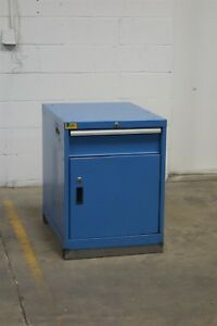 Used Lista 1 Drawer Cabinet 30 High 22 Wide Industrial Storage 1149 Vidmar