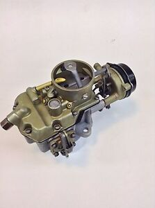Autolite 1100 Carburetor 1963 1969 Ford 170 200 6 Cylinder Engines Manual Trans