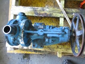 Pompe Viking K 430 Iron Pump 1128748j Port 2 Threaded Turns Good Used