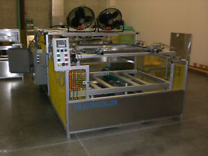 Sibe Automation Vacuum Forming Machine 48 x48 Thermoforming Automatic