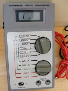 Vintage Micronta Digital Multimeter