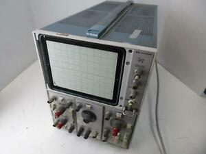 Tektronix Tek 5110 Oscilloscope W 5a18n 5a24n 5b10n parts Or Repair