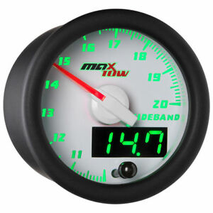 Maxtow 52mm White Wideband Air Fuel Ratio Afr Gauge Mt Wdv02 Wb